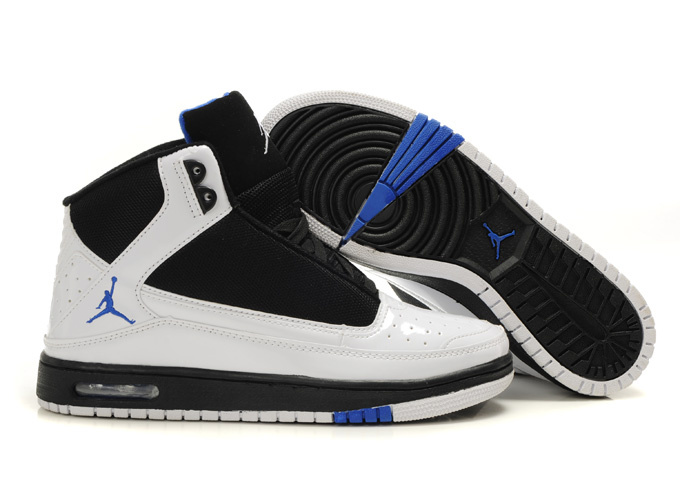 2011 Air Jordan Shoes White Blue