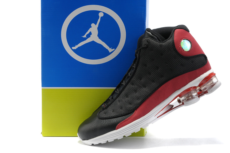 2012 Air Cushion Jordan 13 Black Red