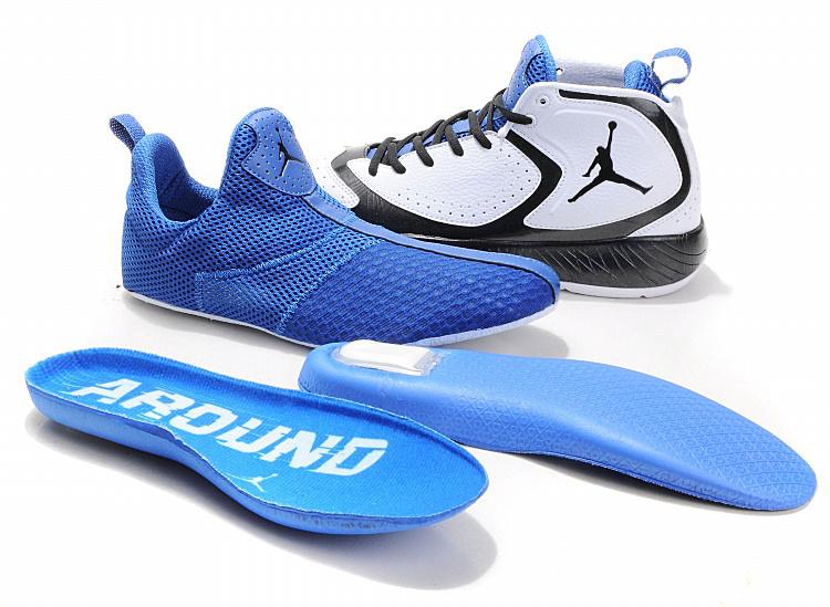 2012 Air Jordan White Blue