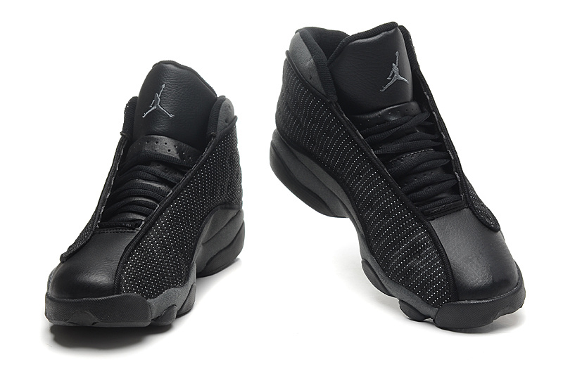 air jordan black shoes