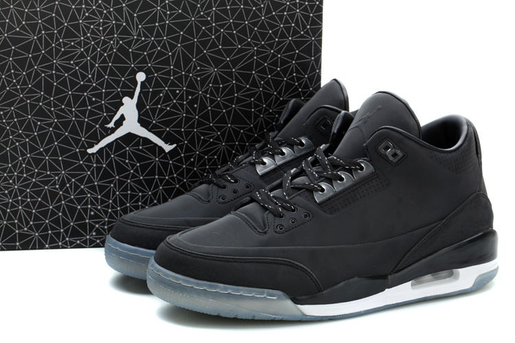 2014 Air Jordan 5Lab3 All Black Shoes