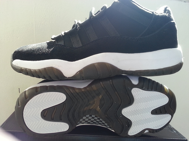2015 Air Jordan 11 Retro Low Shoes Black White