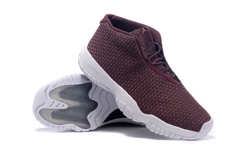 New Arrival Air Jordan Future Wine Red White Shoes
