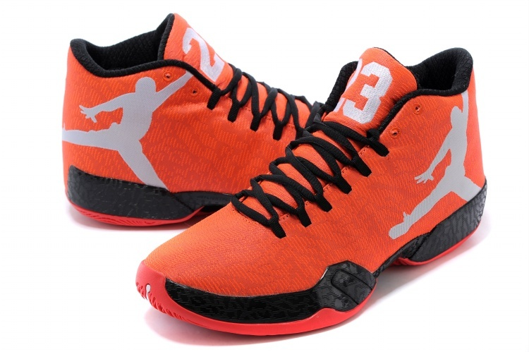 2015 Jordan 29 Orange Black Grey Shoes