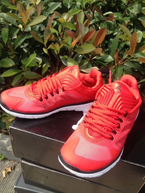 2015 Air Jordan Running Shoes Red Black