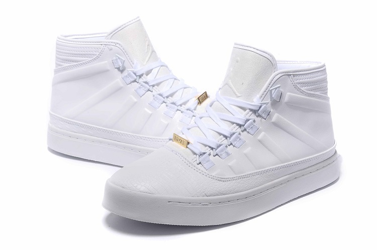 Latest Air Jordan Westbrook 0 1 All White Shoes