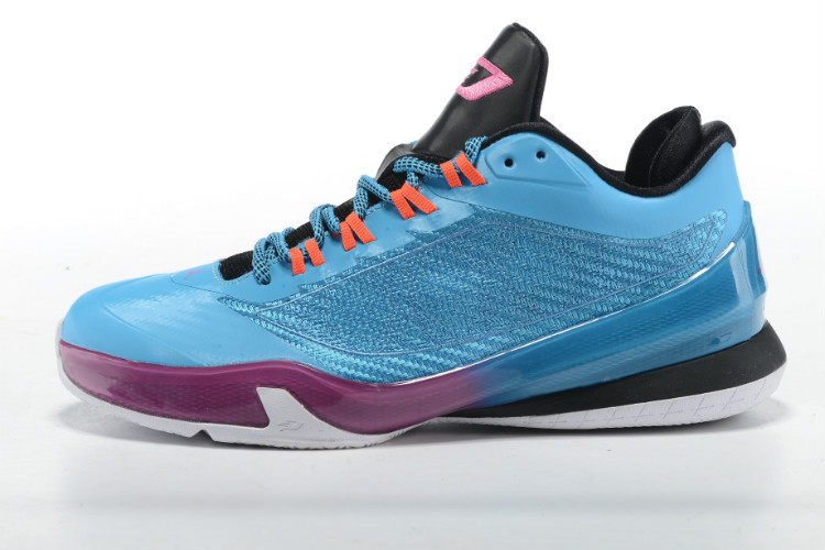 Jordan CP3 VIII Blue Purple Black Shoes