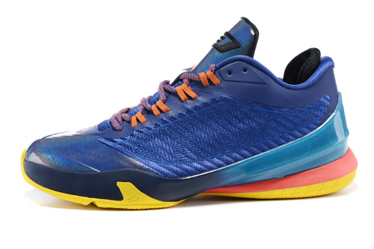 Jordan CP3 VIII Sea Blue Pink Orange Shoes