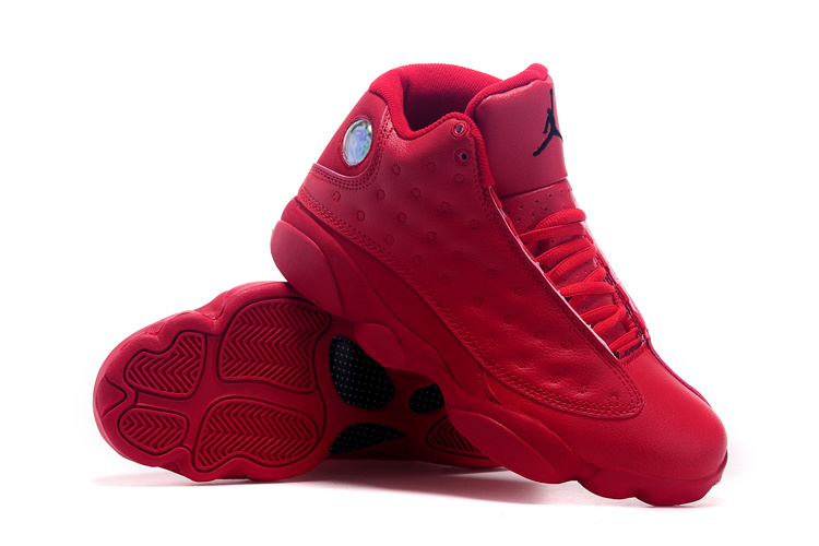 2015 Air Jordan 13 Retro All Red Shoes