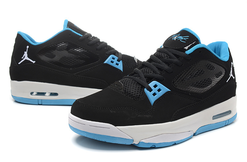 Air Jordan Flight 23 RST Low Black Baby Blue Shoes
