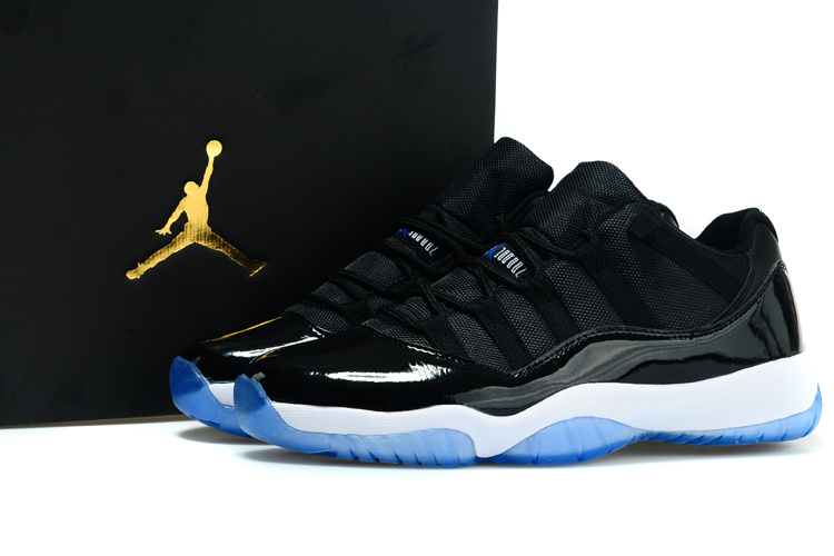 cbc021575227 Jordan 11 Low Black White Blue Shoes  2015JORDAN013  -  83.00   2013 Air  Jordans