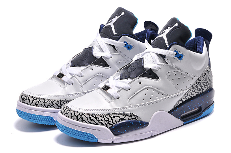 2015 Jordan Son of Mars Low White Blue Shoes