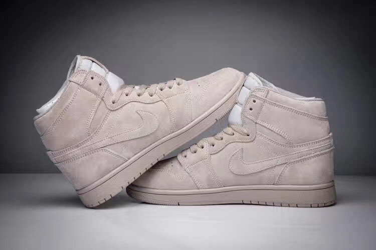 New Jordan 1 Retro Deer Skin Grey Shoes