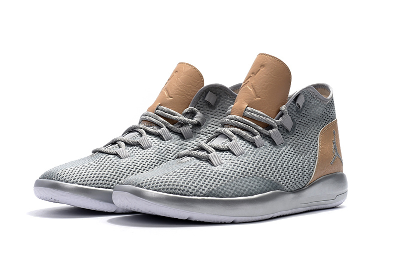 2017 Jordan Grey Brown Casual Shoes