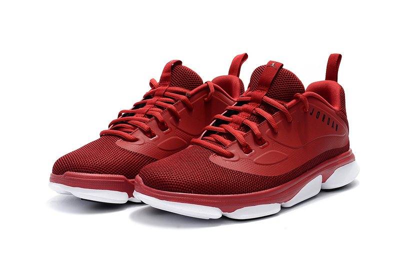 2017 Jordan Low Wine Red White Basketball Shoes