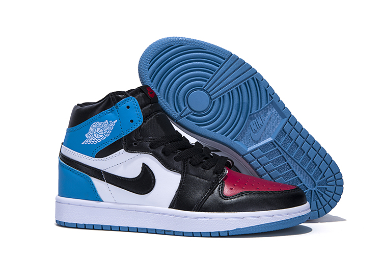 2018 Women Air Jordan 1 Sky White Jade Blue Shoes