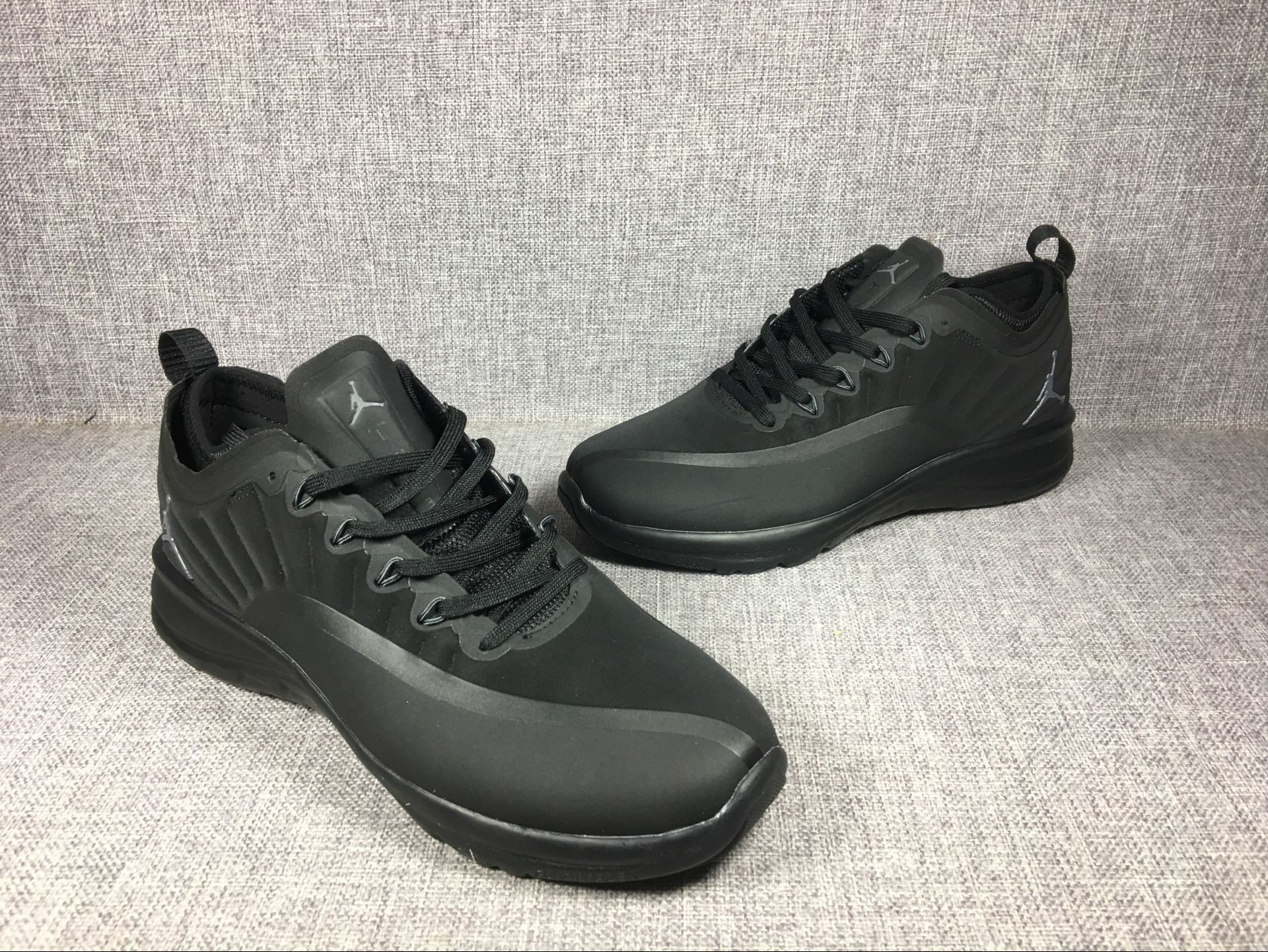 on sale 9a530 33750 2018 New Air Jordan 12 Low All Black Shoes [18retro5414 ...