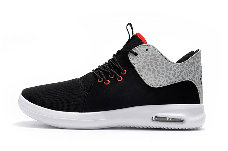 2018 Black Cement Grey Jordan Running Shoes