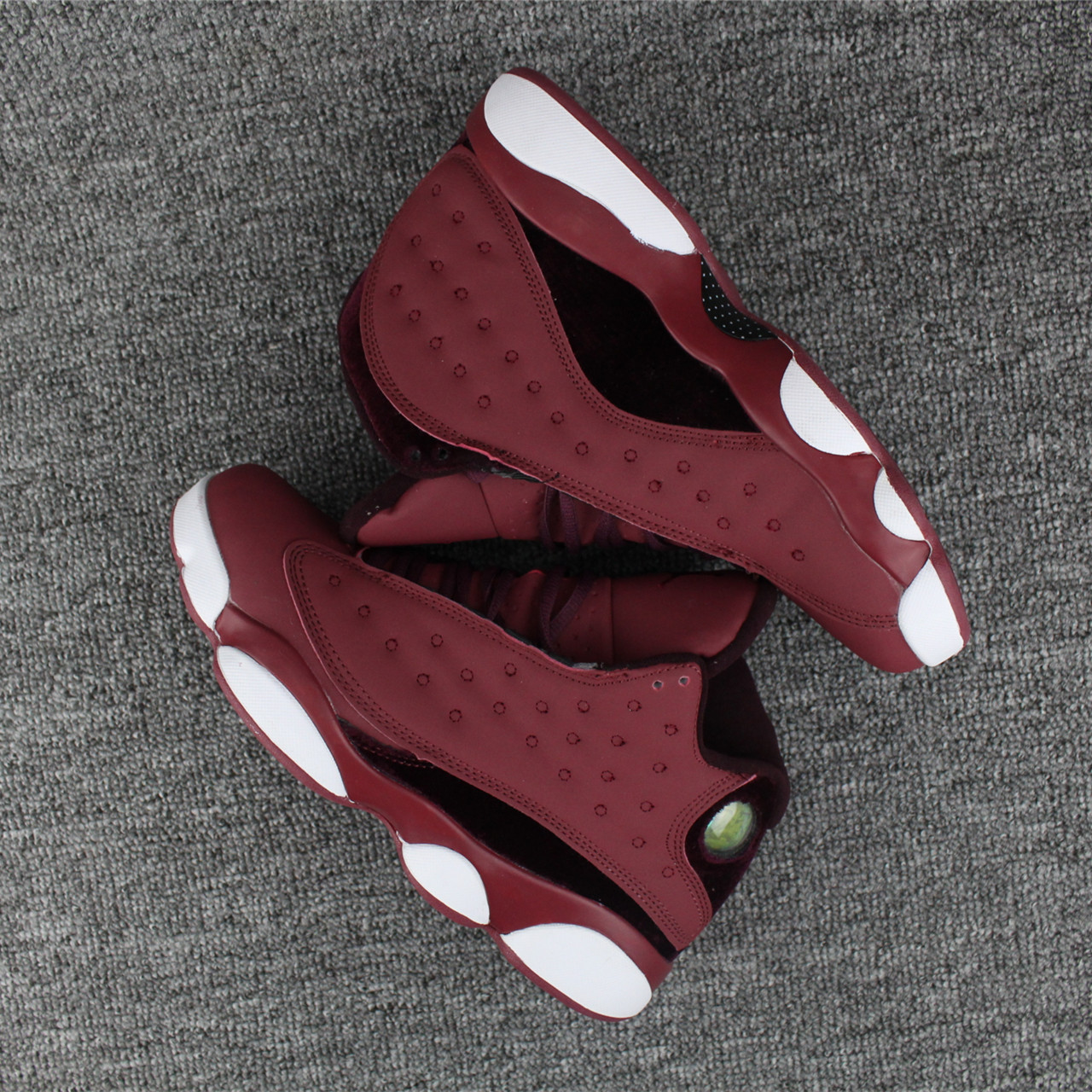 2018 Jordans 13 Wine Red Shoes