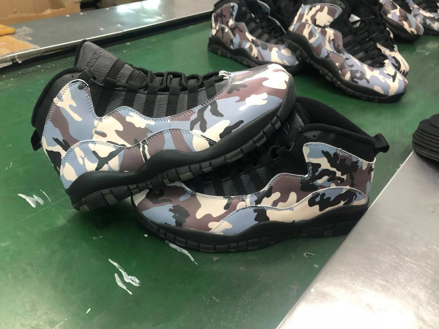 New Air Jordan 10 Retro Camo Army