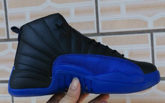 New Air Jordan 12 Retro 2019 Black Blue