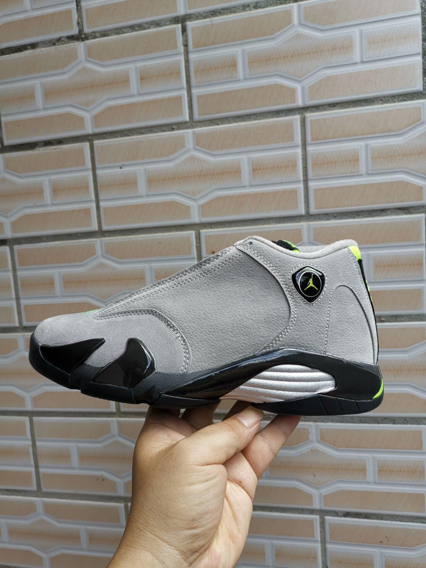2019 Air Jordan 14 Retro Grey Black