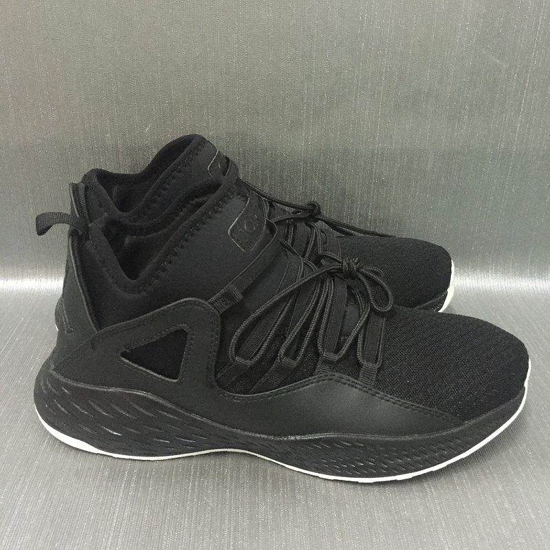 2017 JORDAN FORMULA 23 All Black Shoes