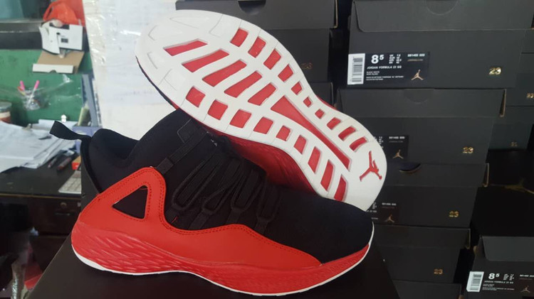 2017 JORDAN FORMULA 23 Black Red Shoes