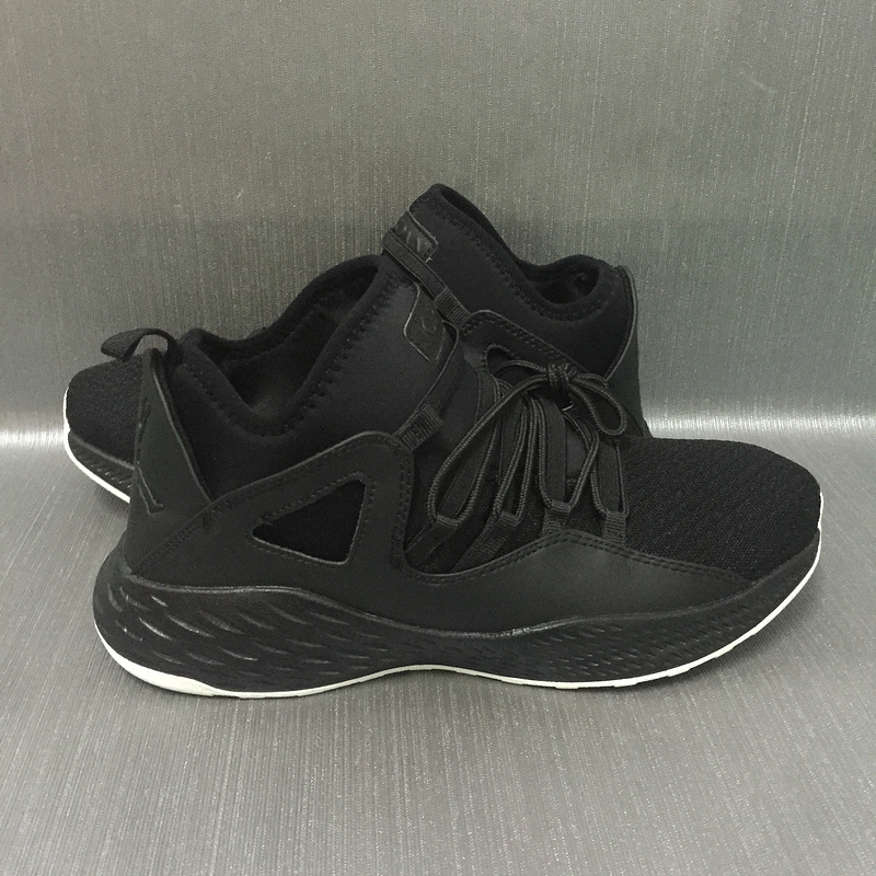 2017 JORDAN FORMULA 23 Black White Shoes