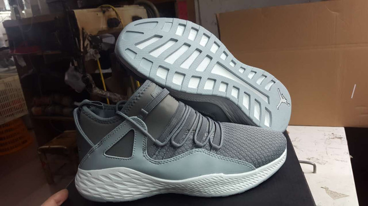 2017 JORDAN FORMULA 23 Grey Shoes