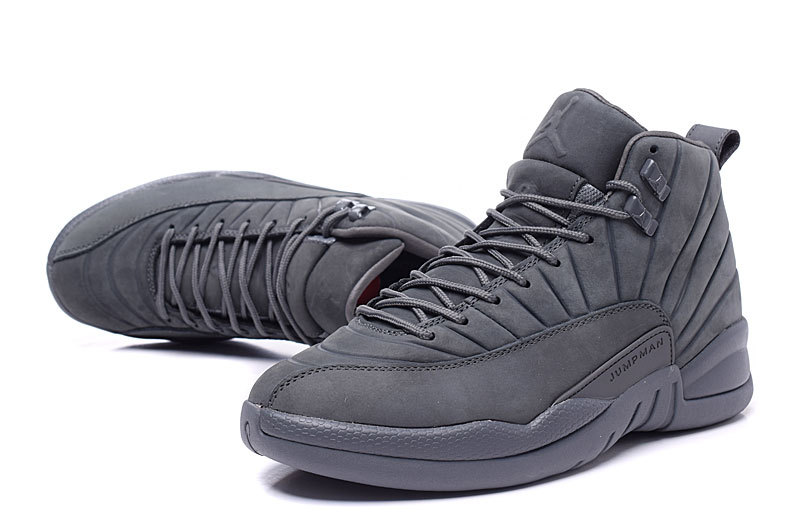 2016 Air Jordan 12 PSNY Retro Carbon Fibre Black Shoes
