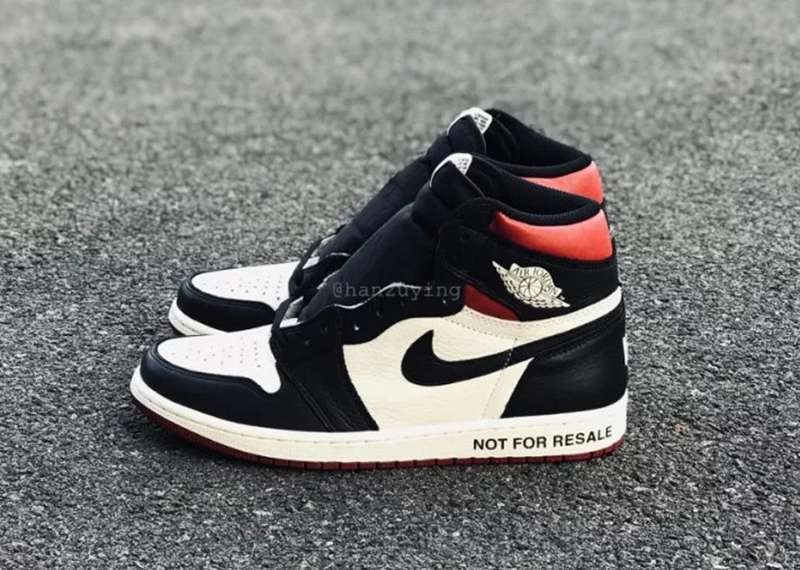 Air Jordan 1 NRG NOT FOR RESALE Black White Shoes