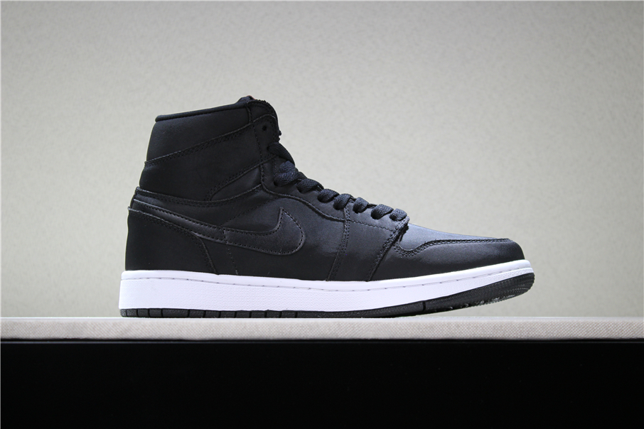 Air Jordan 1 PSG Black White Red Shoes