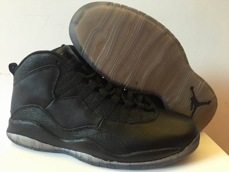 Air Jordan 10 OVO All Black Shoes