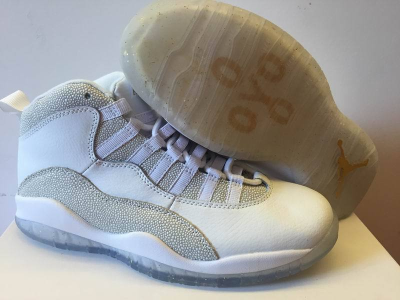 Air Jordan 10 OVO White Shoes