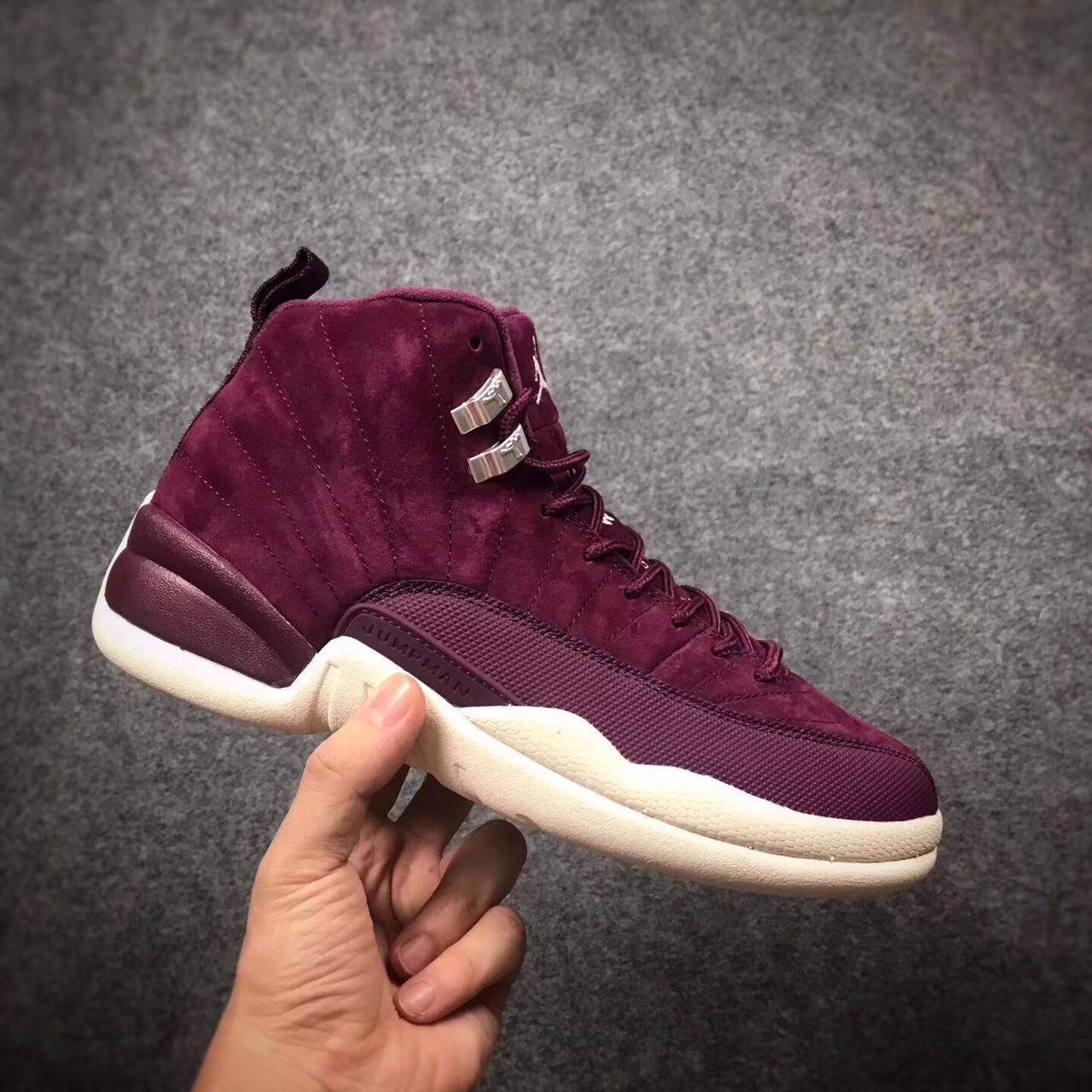 2017 Jordan 12 Bordeaux Wine Red Shoes