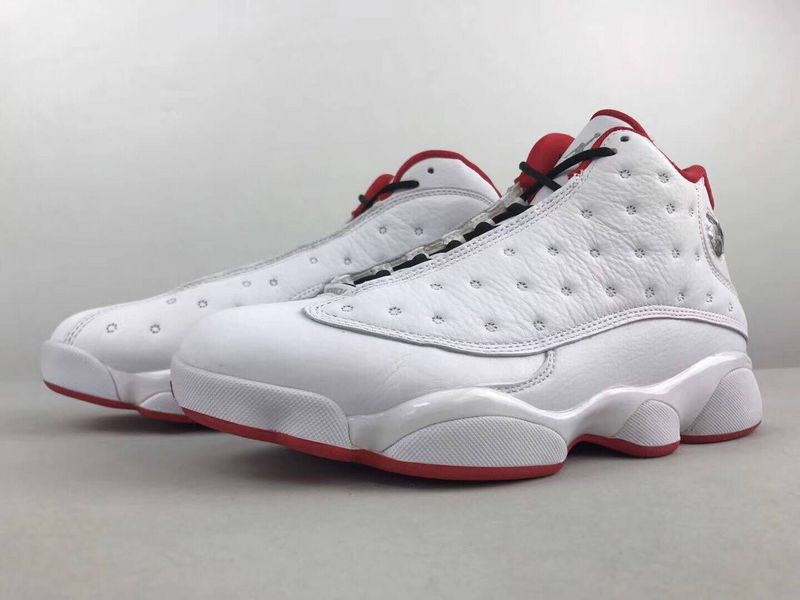 2017 Jordan 13 OG Chicago White Red Shoes