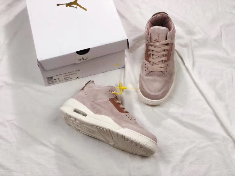 Air Jordan 3 Rose Gold