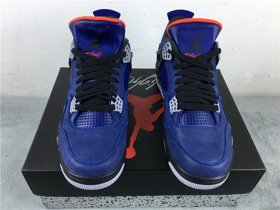 2019 Air Jordan 4 WNTR Loyal Blue