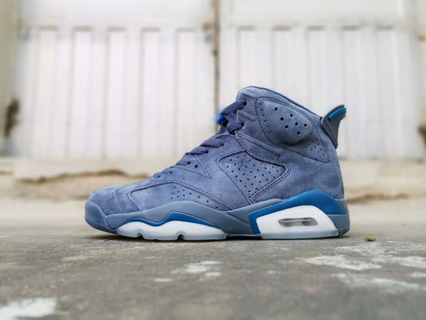 2019 Air Jordan 6 Retro Jimmy Buttler Blue Jade Shoes