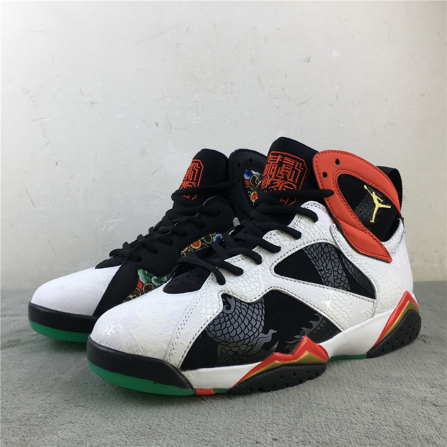 2020 Air Jordan 7 Retro China Dragon Print