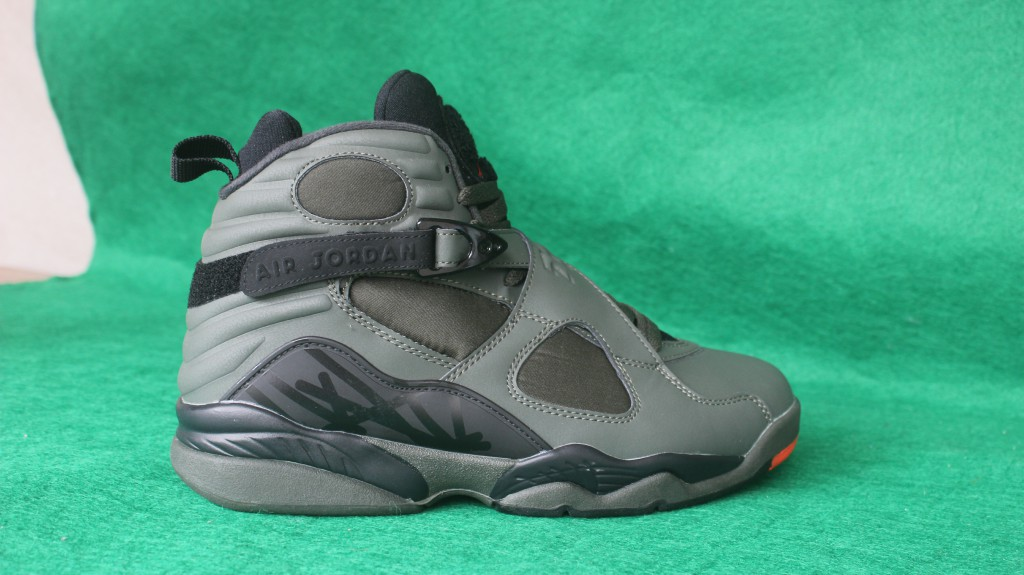 New Air Jordan 8 Take Flight Grey Black Shoes