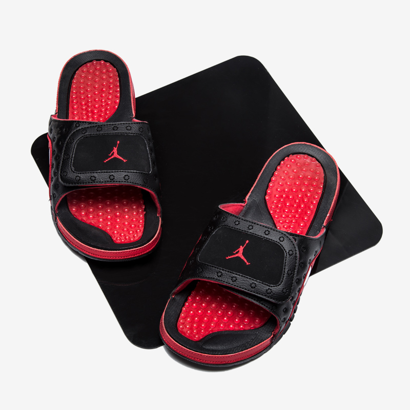 Air Jordan Hydro 13 Black Red