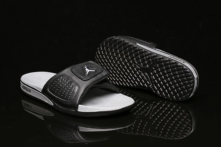 Women Air Jordan Hydro III Retro Black White Sandal