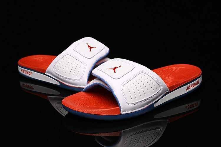 Women Air Jordan Hydro III Retro White Orange Sandal