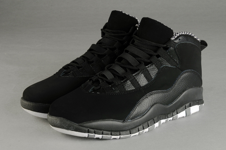 air jordan 10 all black for sale