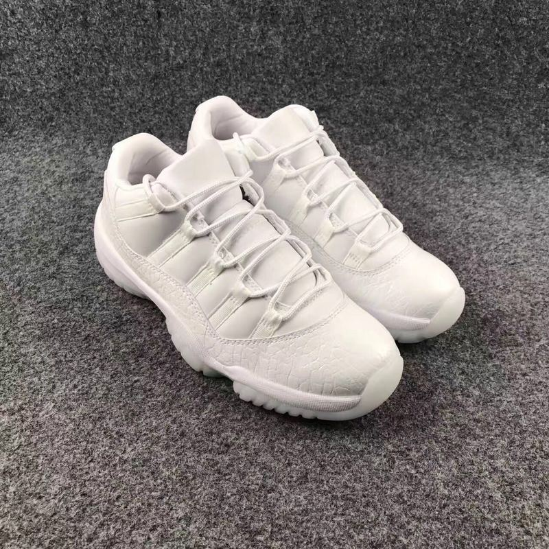2017 Jordan 11 GS Heiress All White
