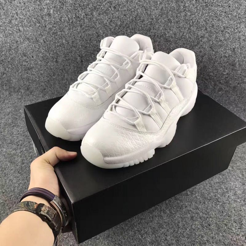 2017 Jordan 11 Heiress White Shoes
