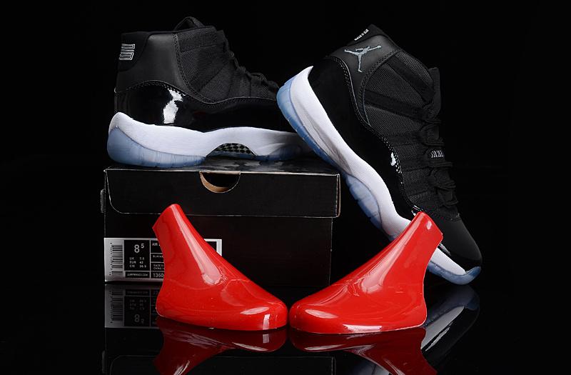Air Jordan 11 Retro Black Blue White Shoes
