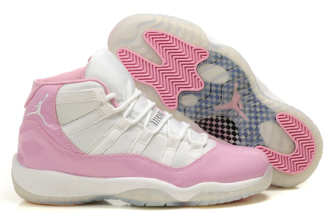 Air Jordan 11 White Pink For Women